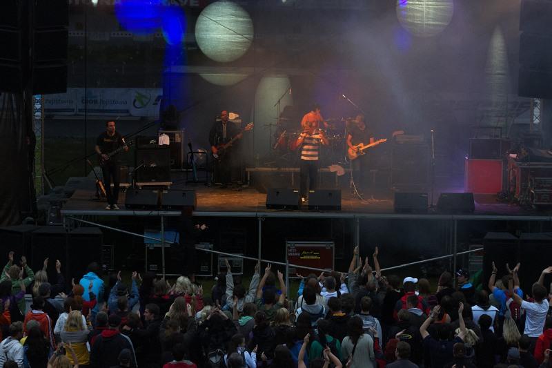 Merida Bike Vysočina 2009 - XCO - koncert Support Lesbiens