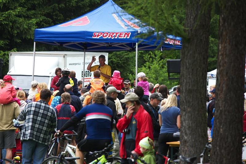 Merida Bike Vysočina 2009 - XCO - o dětský cykloden s Michalem Nesvadbou byl velký zájem