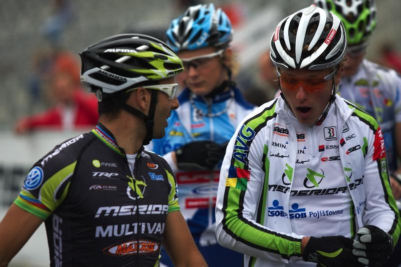 """Merida Bike Vyso�ina 2009 - XCO - """"To si d�l� prdel, ty jede� na Merid�?"""""""
