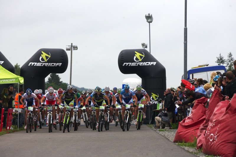 Merida Bike Vysočina 2009 - XCO - start mužů