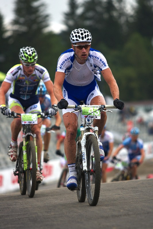 Merida Bike Vysočina 2009 - XCO - Martin Zlámalík byl v prvním kole na výborné pozici