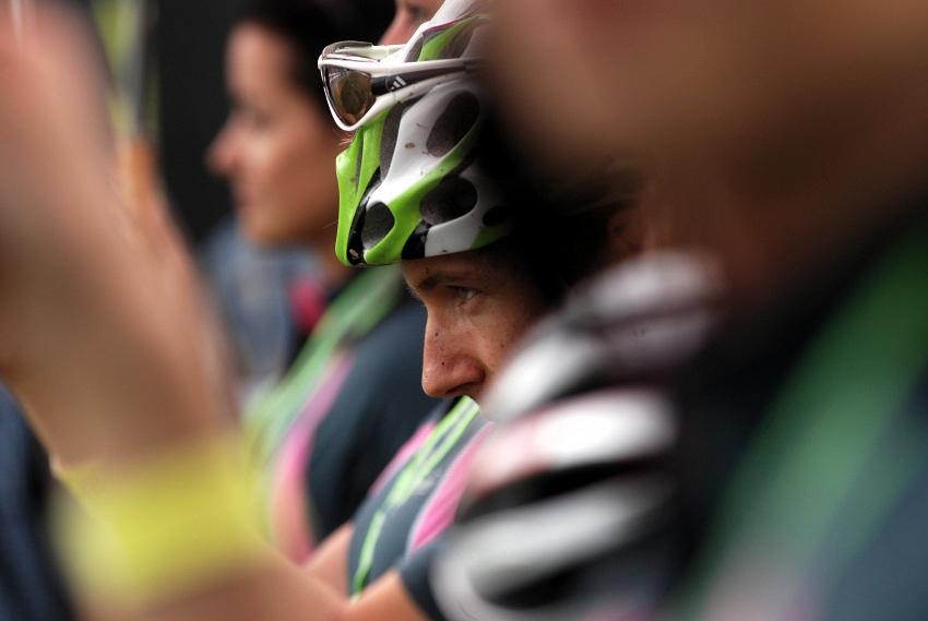 Merida Bike Vysočina 2009 - sprint: Umberto Corti na startu