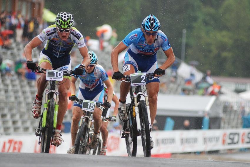 Merida Bike Vysočina 2009 - sprint: Umberto Corti a Milan Spěšný