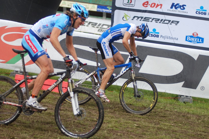 Merida Bike Vysočina 2009 - sprint: Jan Škarnitzl a Milan Spěšný