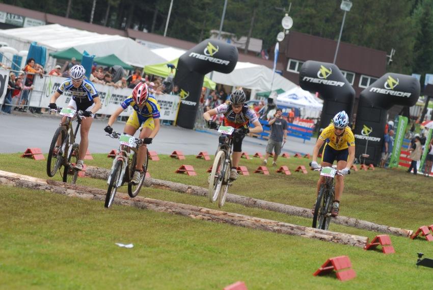 Merida Bike Vysočina 2009 - sprint: ženské malé finále