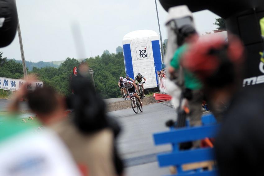 Merida Bike Vysočina 2009 - sprint: Jiří Friedl vyhrává malé finále
