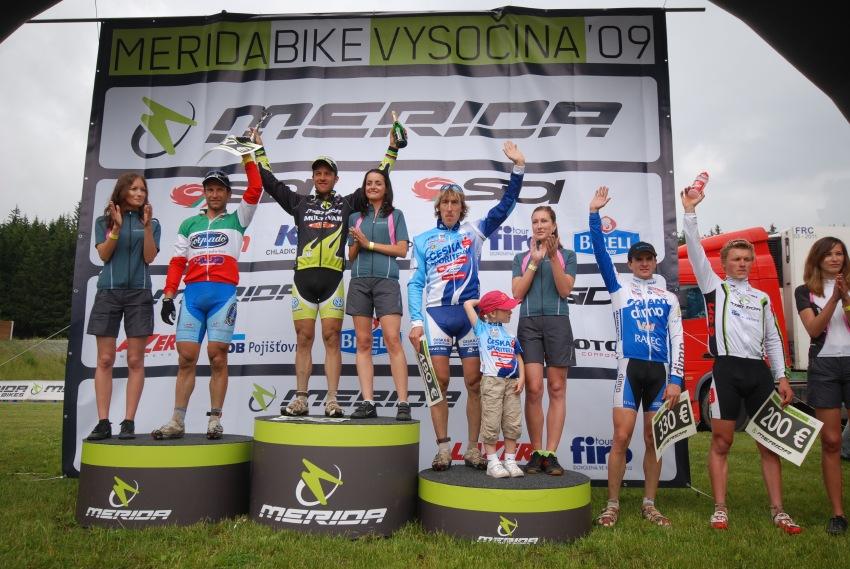 Merida Bike Vysočina 2009 - sprint: nejlepší muži