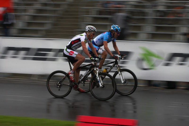 Merida Bike Vysočina 2009 - sprint - Jiří Friedl a Milan Spěšný