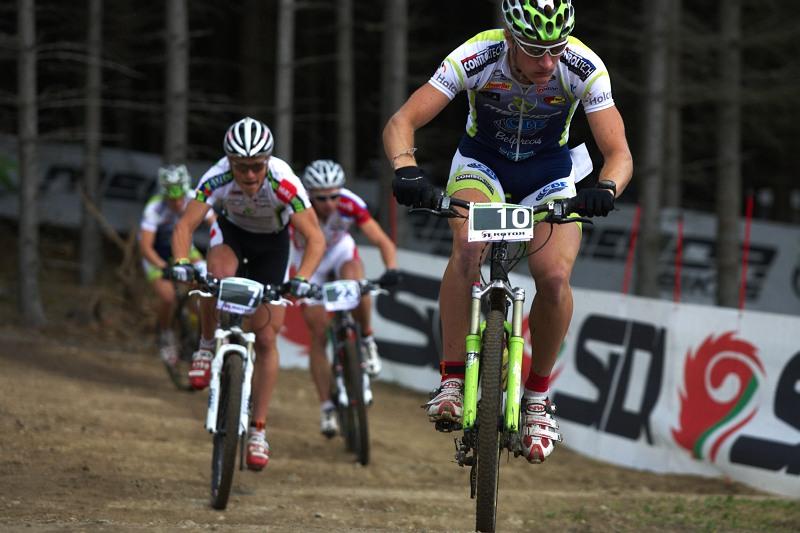 Merida Bike Vysočina 2009 - sprint - Umberto Corti, Jiří Friedl a Tomáš Doležal