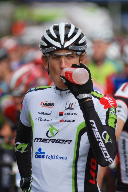 Merida Bike Vysočina 2009 - maraton: Jan Jobánek na startu