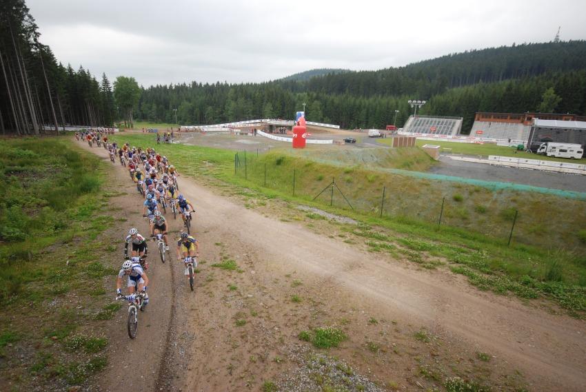 Merida Bike Vysočina 2009 - maraton: Ski areál Nové Město