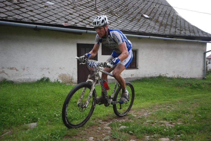 Merida Bike Vyso�ina 2009 - maraton: Olda Hakl na �ele