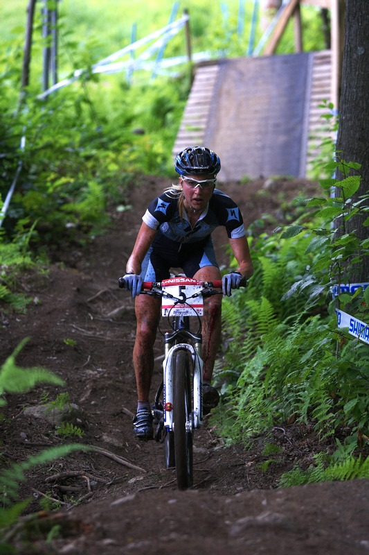 Nissan UCI MTB World Cup XCO #6 - Bromont /KAN/ 2.8. 2009 - Lene Byberg