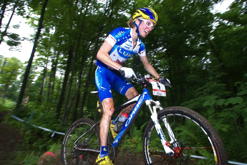 Nissan UCI MTB World Cup XCO #6 - Bromont /KAN/ 2.8. 2009 - Catherine Pendrel