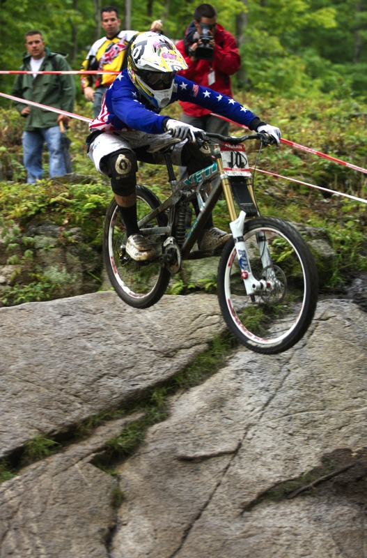 Nissan UCI MTB World Cup 4X/DH #7 - Bromont 1.8. 2009 - Aaron Gwin