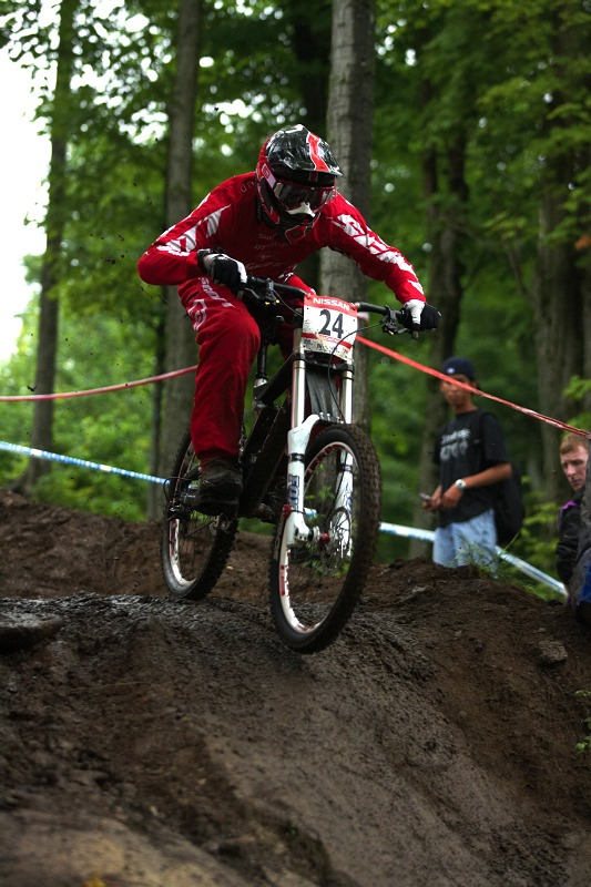 Nissan UCI MTB World Cup 4X/DH #7 - Bromont 1.8. 2009 - Fabien Pedemanaud