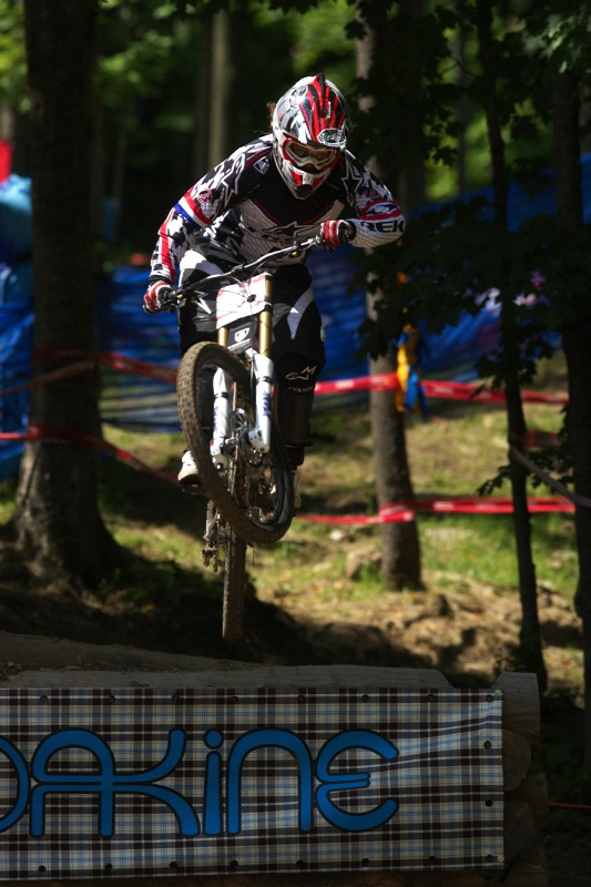 Nissan UCI MTB World Cup 4X/DH #7 - Bromont 1.8. 2009 - Tracy Moseley
