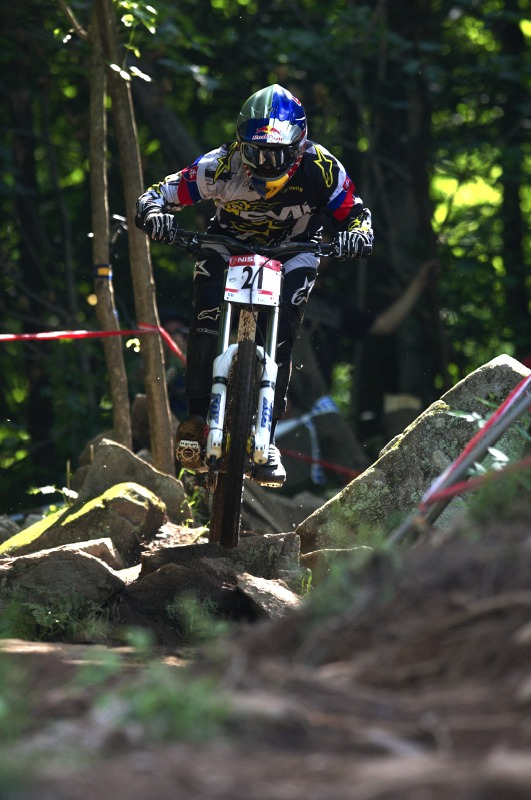 Nissan UCI MTB World Cup 4X/DH #7 - Bromont 1.8. 2009 - Filip Polc