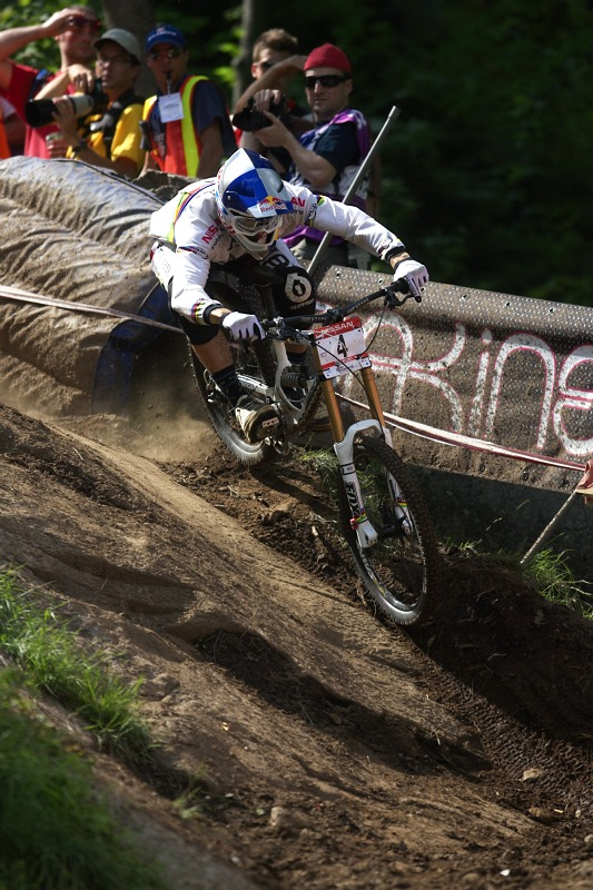 Nissan UCI MTB World Cup 4X/DH #7 - Bromont 1.8. 2009 - Gee Atherton