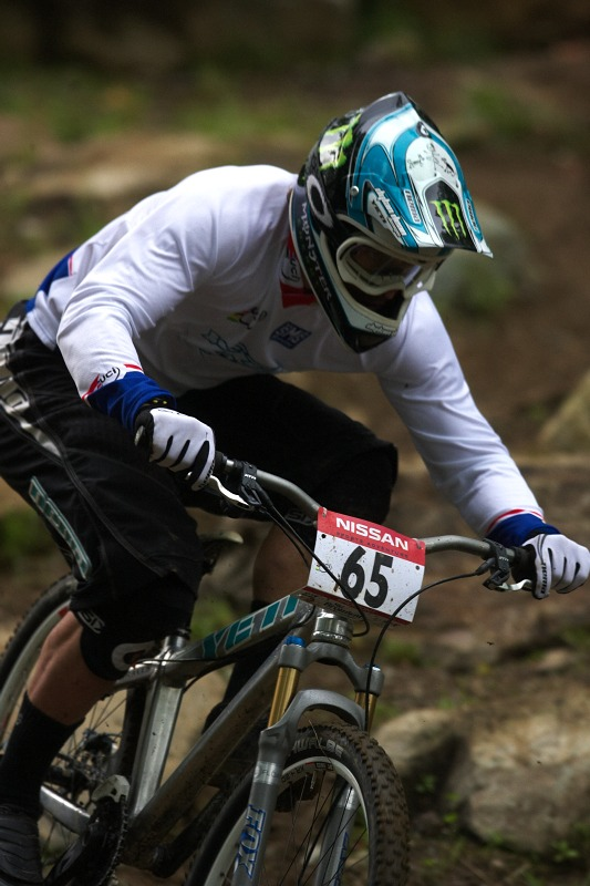 Nissan UCI MTB World Cup 4X/DH #7 - Bromont 1.8. 2009 - Jared Graves
