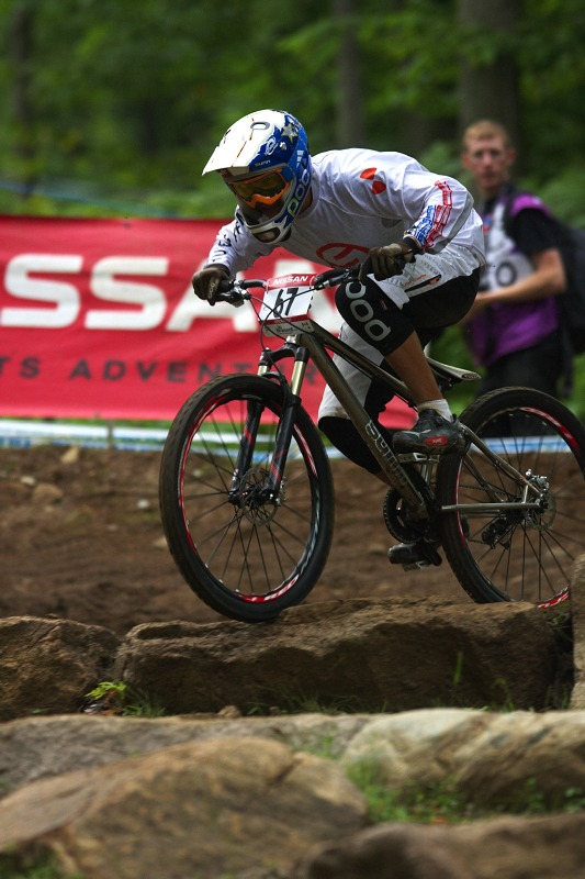 Nissan UCI MTB World Cup 4X/DH #7 - Bromont 1.8. 2009 - Romain Saladini