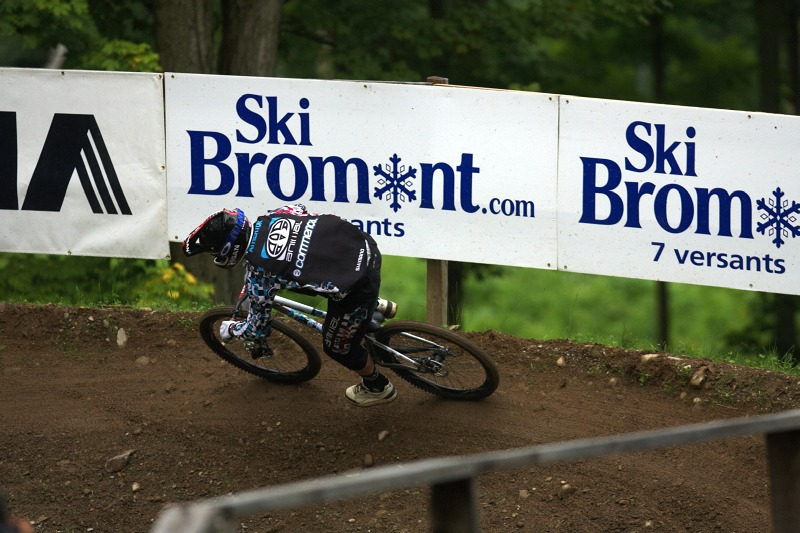 Nissan UCI MTB World Cup 4X/DH #7 - Bromont 1.8. 2009 - Dan Atherton