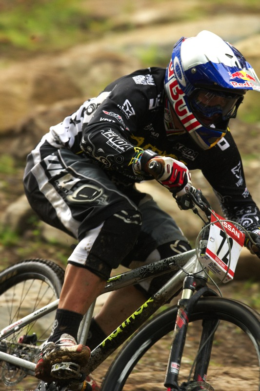 Nissan UCI MTB World Cup 4X/DH #7 - Bromont 1.8. 2009 - Michal Prokop