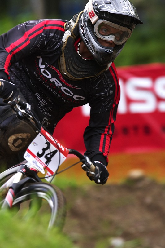 Nissan UCI MTB World Cup 4X/DH #7 - Bromont 1.8. 2009 - Fionn Griffith