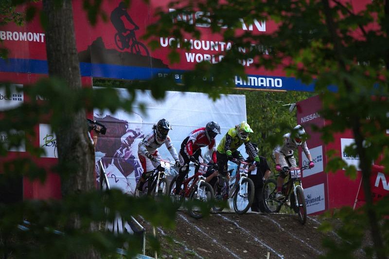 Nissan UCI MTB World Cup 4X/DH #7 - Bromont 1.8. 2009 - mal� fin�le �en