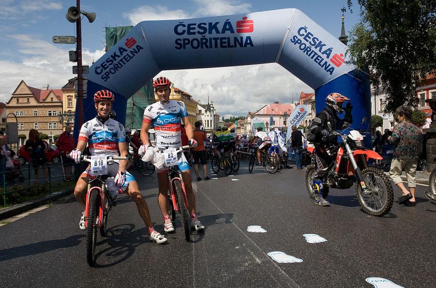 KPŽ Manitou Železné hory 2009 - Top stars závodu na 50 km