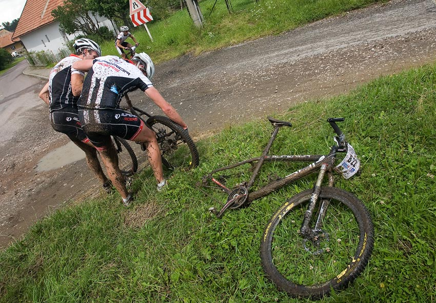 KPŽ Manitou Železné hory 2009 - Superior riders a týmová výpomoc