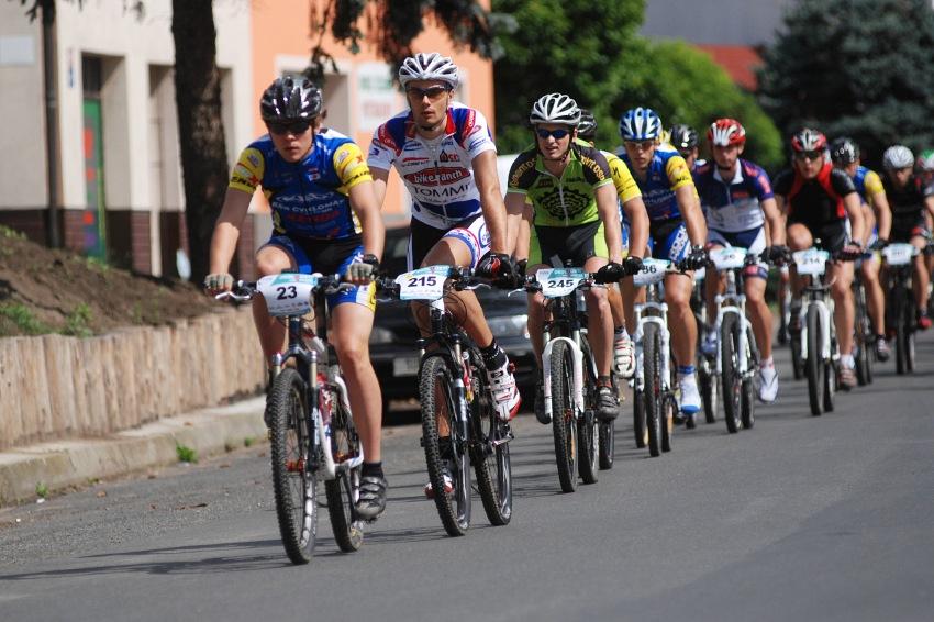Český pohár XCM #4 2009 - RWE Okoloústí: start krátké trati