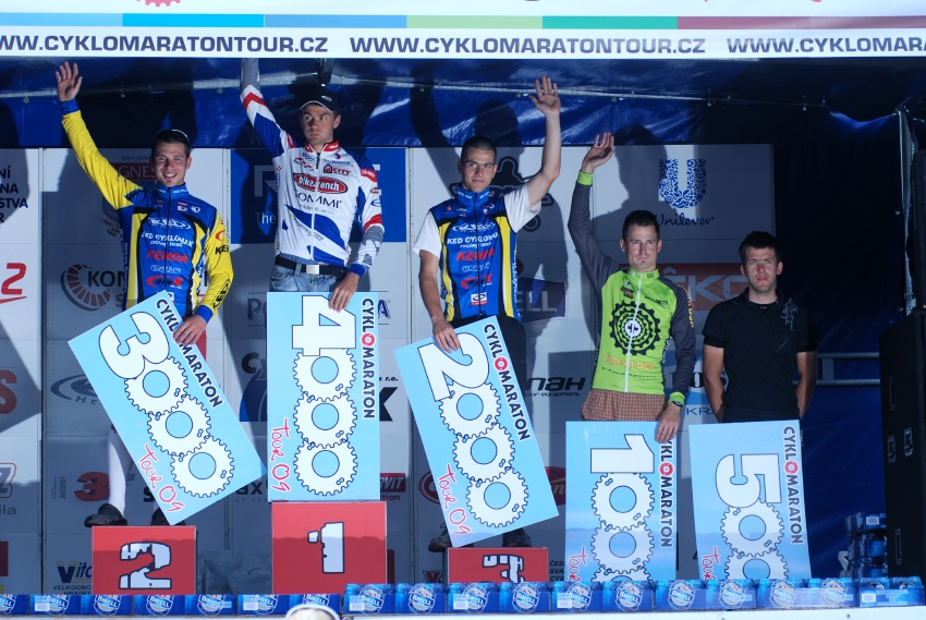 Český pohár XCM #4 2009 - RWE Okoloústí: Michal Bubílek vítězem na 45 km trati