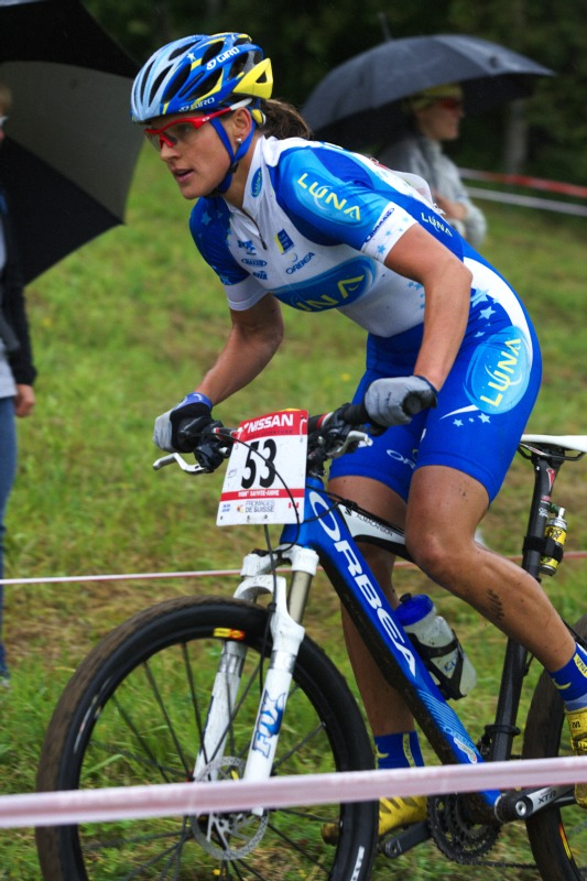 Nissan UCI MTB World Cup XC #5 - Mont St. Anne /KAN/ 26.7.2009 - Kateřina Nash