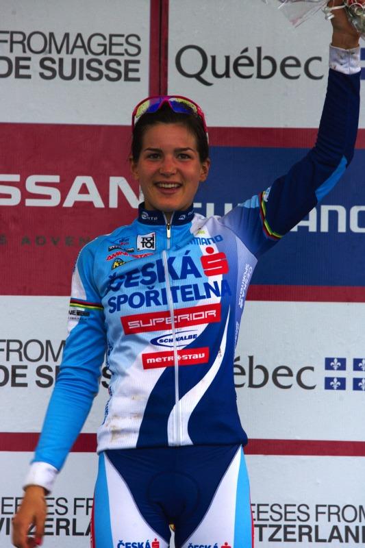 Nissan UCI MTB World Cup XC #5 - Mont St. Anne /KAN/ 26.7.2009 - Tereza Huříková třetí v kategorii U23