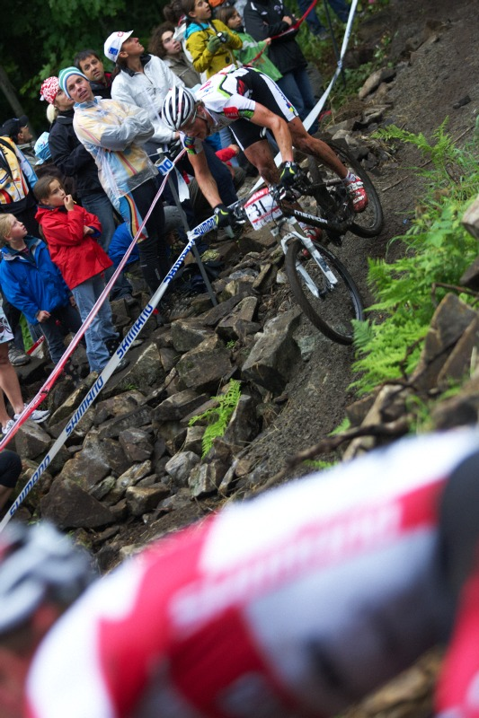 Nissan UCI MTB World Cup XC #5 - Mont St. Anne /KAN/ 26.7.2009 - Jiří Friedl