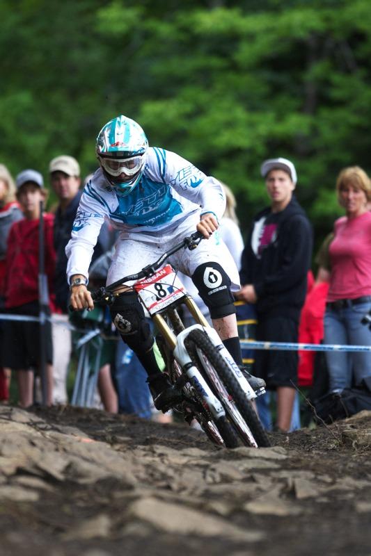 Nissan UCI MTB World Cup 4X+DH #6 - Mont St. Anne /KAN/ 25.7.2009 - Samuel Blenkinsop
