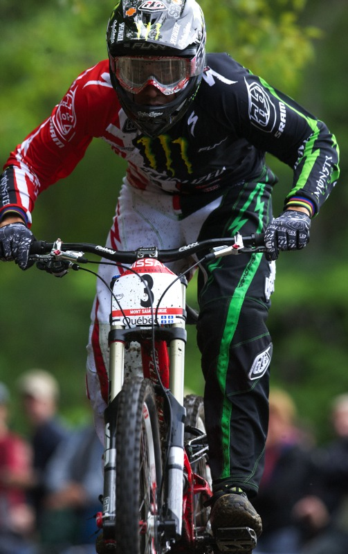 Nissan UCI MTB World Cup 4X+DH #6 - Mont St. Anne /KAN/ 25.7.2009 - Sam Hill