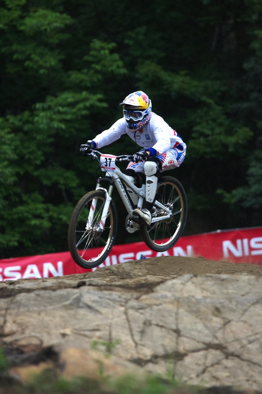 Nissan UCI MTB World Cup 4X+DH #6 - Mont St. Anne /KAN/ 25.7.2009 - Jill Kintner
