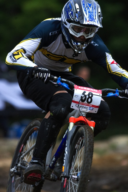 Nissan UCI MTB World Cup 4X+DH #6 - Mont St. Anne /KAN/ 25.7.2009 - Roger Rinderknecht