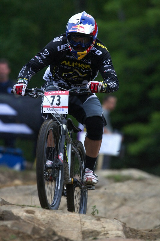 Nissan UCI MTB World Cup 4X+DH #6 - Mont St. Anne /KAN/ 25.7.2009 - Michal Prokop