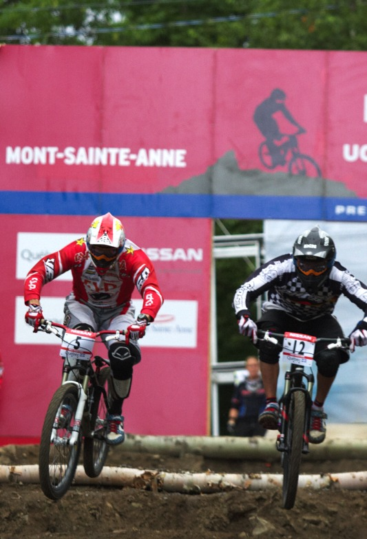 Nissan UCI MTB World Cup 4X+DH #6 - Mont St. Anne /KAN/ 25.7.2009