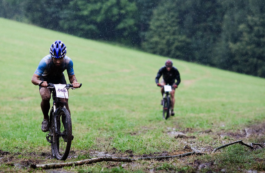 Bikechallenge 2009 - Míra Hornych vyhrál prolog