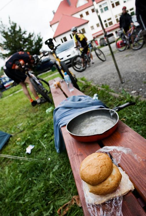 Bikechallenge 2009 - ranní atmosféra