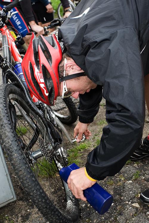 Bikechallenge 2009 - prý bude dnes hodně bláta....