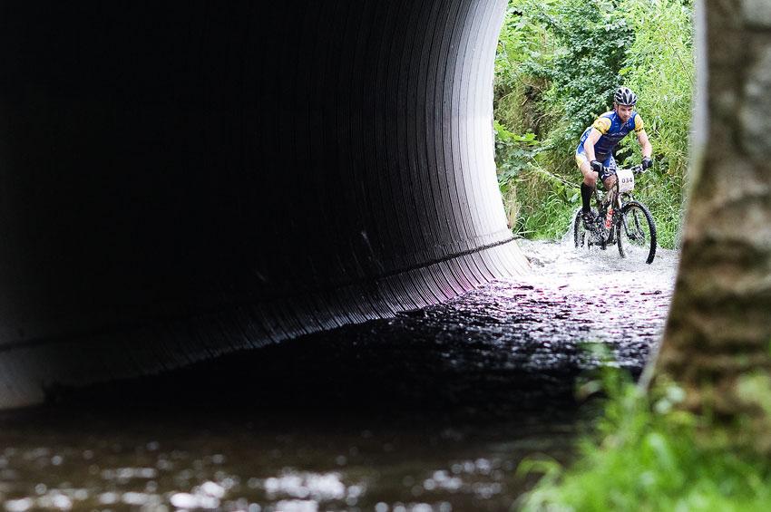 Bikechallenge 2009 - Franta Žilák bojuje s vodou