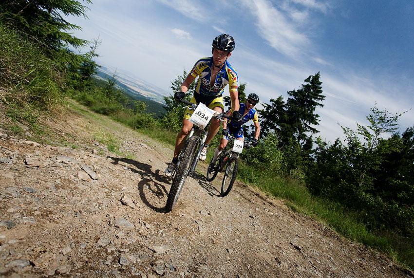 Bikechallenge 2009 - Petr Sulzbacher a Franta Žilák