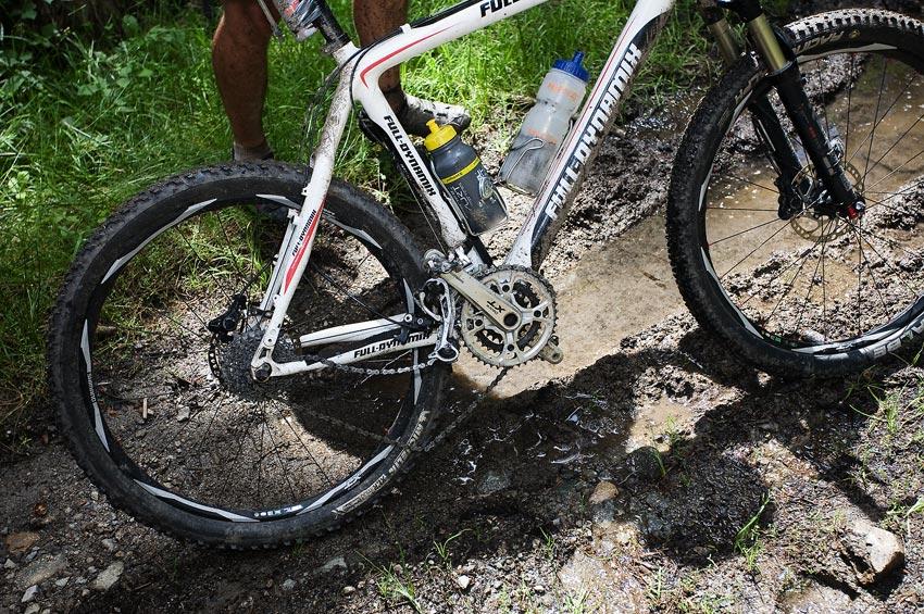 Bikechallenge 2009 - pohled na urvaný šaltr nebyl ojedinělý