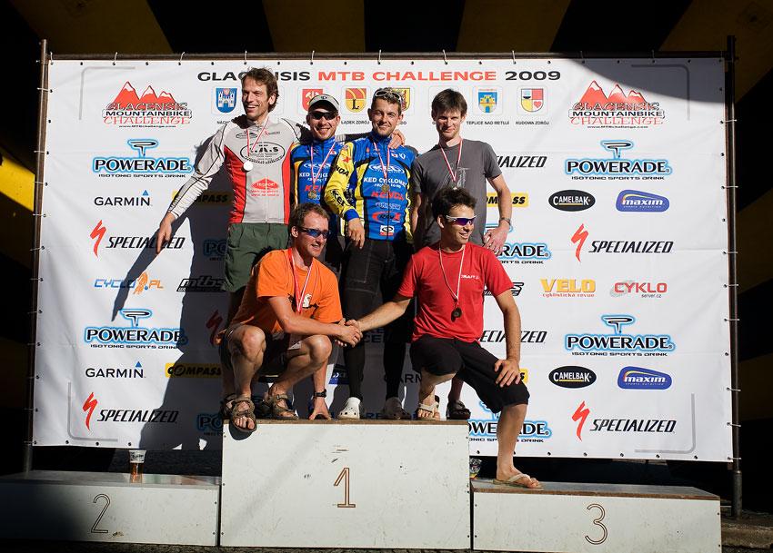 Bikechallenge 2009 - nejlepší dvojice: 1. Team L.A.S - RavX (BEL) 2. Teplice nad Metují - Cyklomax (CZE) - Žilák, Sulzbacher 3. Plannja Racing Team (POL)