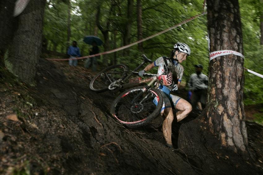 Mistrovství ČR MTB XC 2009 - Karlovy Vary: Radka Pospíšilová